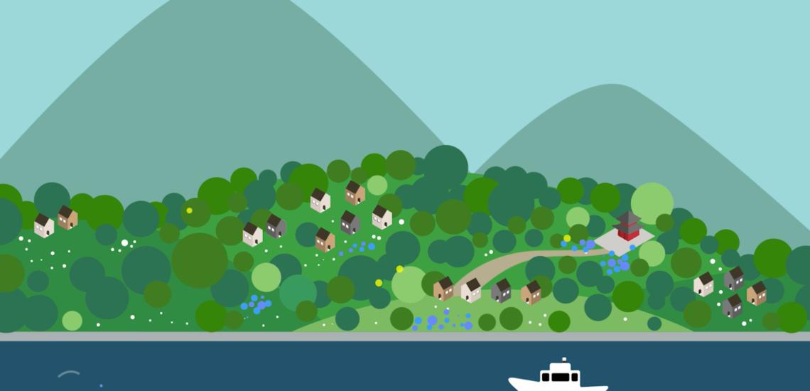 [COLOR] 石巻市雄勝地区での色彩計画のコンセプトアニメーション「Color With Nature」を公開しました。